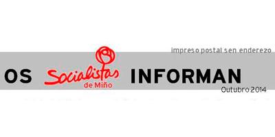 PSOE Miño Informa